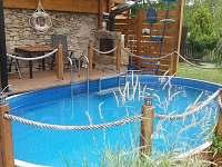 Bazén 5,7x3,7m s krbem