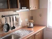 kuchyň - pronájem chaty Staňkov