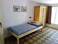 Ložnice č. 1 - pronájem chalupy Český Krumlov