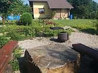 Zahrada - chalupa k pronájmu Číměř