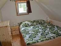 Ložnice - chata ubytování Lipno nad Vltavou - Kobylnice