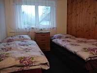 Chata u Adama dvoulůžkový pokoj v prvním patře - pronájem Lipno nad Vltavou - Slupečná