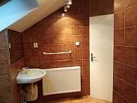koupelna v podkroví - chata k pronájmu Lipno nad Vltavou - Slupečná