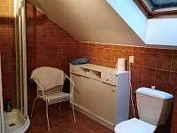 koupelna v podkroví - pronájem chaty Lipno nad Vltavou - Slupečná