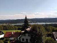 Výhled na Lipenskou přehradu - chata k pronájmu Lipno nad Vltavou - Slupečná