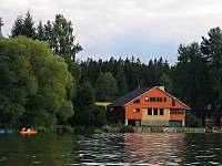 celkový pohled - chata ubytování Střížovice
