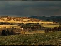 Aprílové počasí - pronájem chalupy Benešov nad Černou