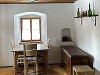 Obývací pokoj - chalupa ubytování Benešov nad Černou