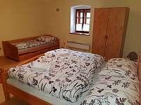 Ložnice - pronájem apartmánu Blažejov