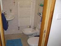 WC - chata k pronajmutí Lhota u Borovan