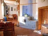 interier malý apartmán - chalupa ubytování Modletice