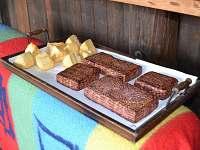 Letní kuchyně-Modletický kozí sýry