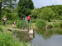 Rybolov pstruhů-Dolní rybník