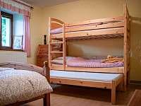 Dětská palanda v menší ložnici - Vlčetínec