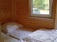 ložnice vedle obýváku s vlastním vchodem - pronájem chaty Landštejn