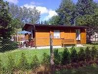 Chata-čelní podled - ubytování Frahelž - Lomnice nad Lužnicí