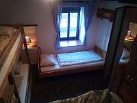 2.ložnice - chalupa k pronájmu Malčice