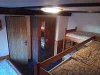 2.ložnice - chalupa k pronajmutí Malčice