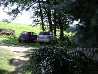 parkování - chata ubytování Bavorov