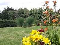 Zahrada - pronájem chalupy Doubrava