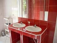Koupelna - chata k pronájmu Soběslav