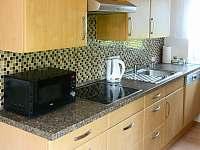 Kuchyně - chata k pronajmutí Soběslav