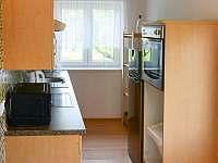 Kuchyně - chata ubytování Soběslav