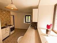 kuchyň v dolní části objetu