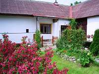 Chalupa k pronajmutí - Horní Radíkov Jižní Čechy