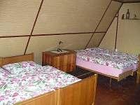 Ložnice - pronájem chaty Kunžak