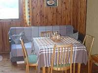 Obývák - chata ubytování Kunžak