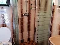 Koupelna - chata k pronajmutí Jindřiš