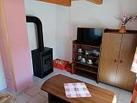 Obývací pokoj - chata ubytování Jindřiš