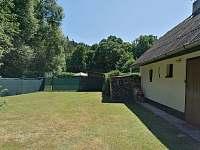 Zahrada - chata ubytování Jindřiš