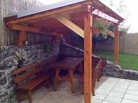 Pergola Bazén - rekreační dům ubytování Krásetín