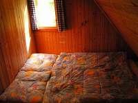 dvoulůžková ložnice - chata k pronájmu Landštejn