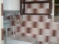 automatická pračka - chalupa k pronájmu Opařany