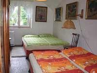 druhá ložnice - chalupa k pronajmutí Opařany