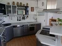 Detail kuchyńské linky - vila k pronajmutí Popelín