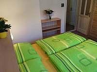 Ap.č.1 - ložnice - apartmán k pronajmutí Lipno nad Vltavou