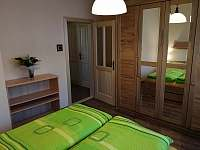 Ap.č.1 - ložnice - apartmán k pronájmu Lipno nad Vltavou