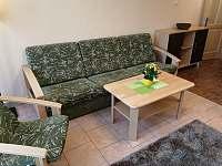 Ap.č.1 - obývací pokoj - apartmán k pronájmu Lipno nad Vltavou