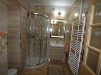 Ap.č.2 - koupelna - apartmán k pronajmutí Lipno nad Vltavou