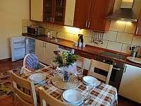 apartmán č.2 kuchyň - ubytování Lipno nad Vltavou