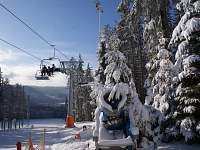 Sněžná děla garance sněhu - apartmán ubytování Lipno nad Vltavou