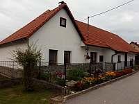 Chalupa k pronajmutí - Velký Ratmírov Jižní Čechy