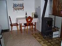 kuchyně - chata ubytování Ševětín Dudenský rybník