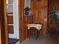 Veranda - pronájem chalupy Borkovice