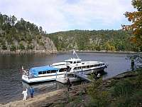 Přístaviště Radava - pronájem apartmánu Orrlická přehrada - Radava
