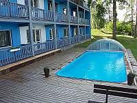 Yacht club Radava bazén - apartmán ubytování Orrlická přehrada - Radava